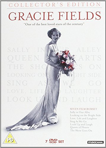 Gracie Fields Collection (7 Films) - 4-DVD Set ( Love, Life and Laughter / Sing As We Go / Sally in Our Alley / Looking on the Bright Side / Quee [ NON-USA FORMAT, PAL, Reg.2 Import - United Kingdom ]