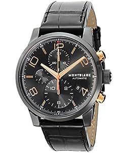 [モンブラン]MONTBLANC 腕時計 TIME WALKER ブラック文字盤 自動巻 クロノグラフ 105805 メンズ 【並行輸入品】