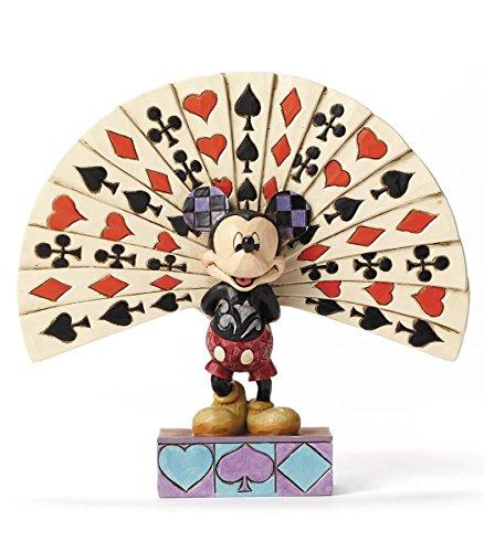 ディズニー・トラディションズ/ ミッキーマウス with プレイングカード スタチュー