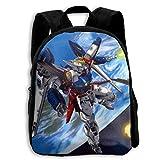 リュックサック Gundam 機動戦士ガンダム 双肩バッグ バックパック Schoolbag for Boys and Girls 子供用 リュックサック バックパック 遠足 スポーツ アウトドア