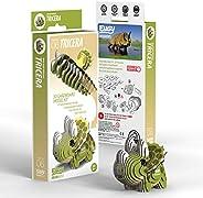 EUGY 006 Tricera Eco-Friendly 3D Paper Puzzle
