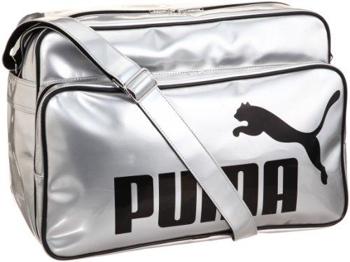 [プーマ] PUMA TS シャイニー タイプ B ショルダー L 069636 05 (プーマ シルバー/ブラック )