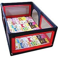 安全フェンス、幼児クロールマットアンチフォールズフェンス子供の遊びフェンスベビーセーフティフェンス屋内世帯 (サイズ さいず : 1.2 * 1.9m)