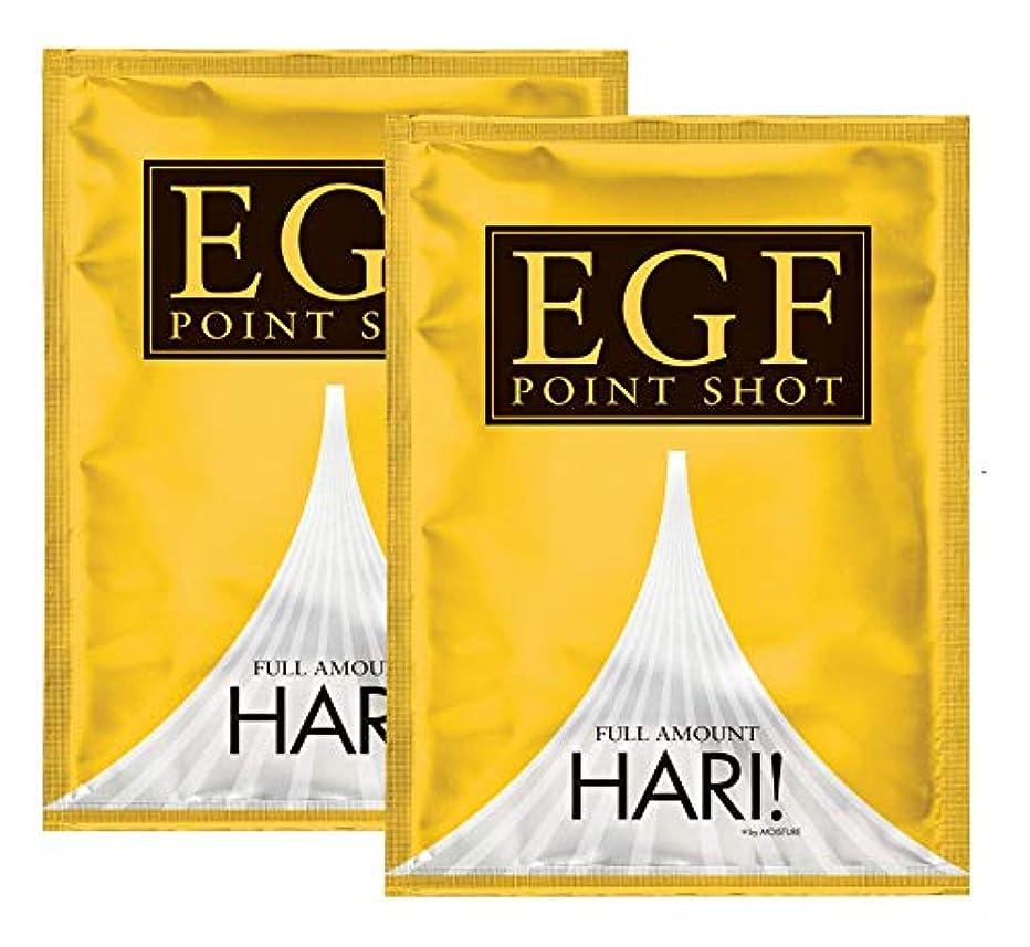 西ミケランジェロ乗って【針型EGF美容液】EGF ポイントショット 2袋組(2枚入×2袋)マイクロニードルパッチ