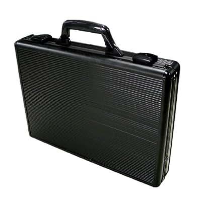 収納力抜群の薄型バッグ◆アルミアタッシュスリム【ブラック】