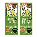 紀文 豆乳飲料 抹茶 200mlパック×18本 2ケース