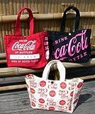 コカコーラ★キャンバスミニトートバッグ!COCA-COLA コカ・コーラ ♪ お散歩バッグ
