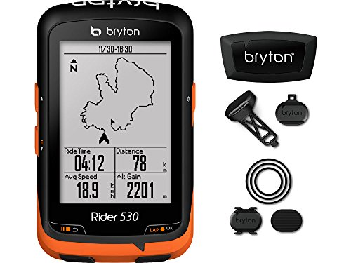BRYTON(ブライトン) RIDER 530 T (ライダー530T) GPSサイクルコンピューター(トリプルセンサー付キット) TB0F0R530TB0F0LK