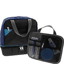 Lewis N. Clark Travelflex Toiletry Kit, Deluxe Blue