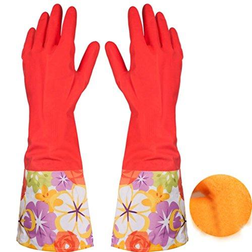 Goenn キッチン グローブ 掃除用手袋 防水 炊事手袋 ...