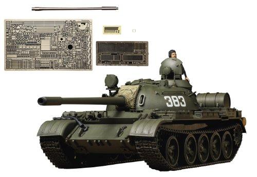 スケール限定シリーズ 1/35 ソビエト戦車 T-55A (アベール社製エッチングパーツ/金属砲身付き) 25145