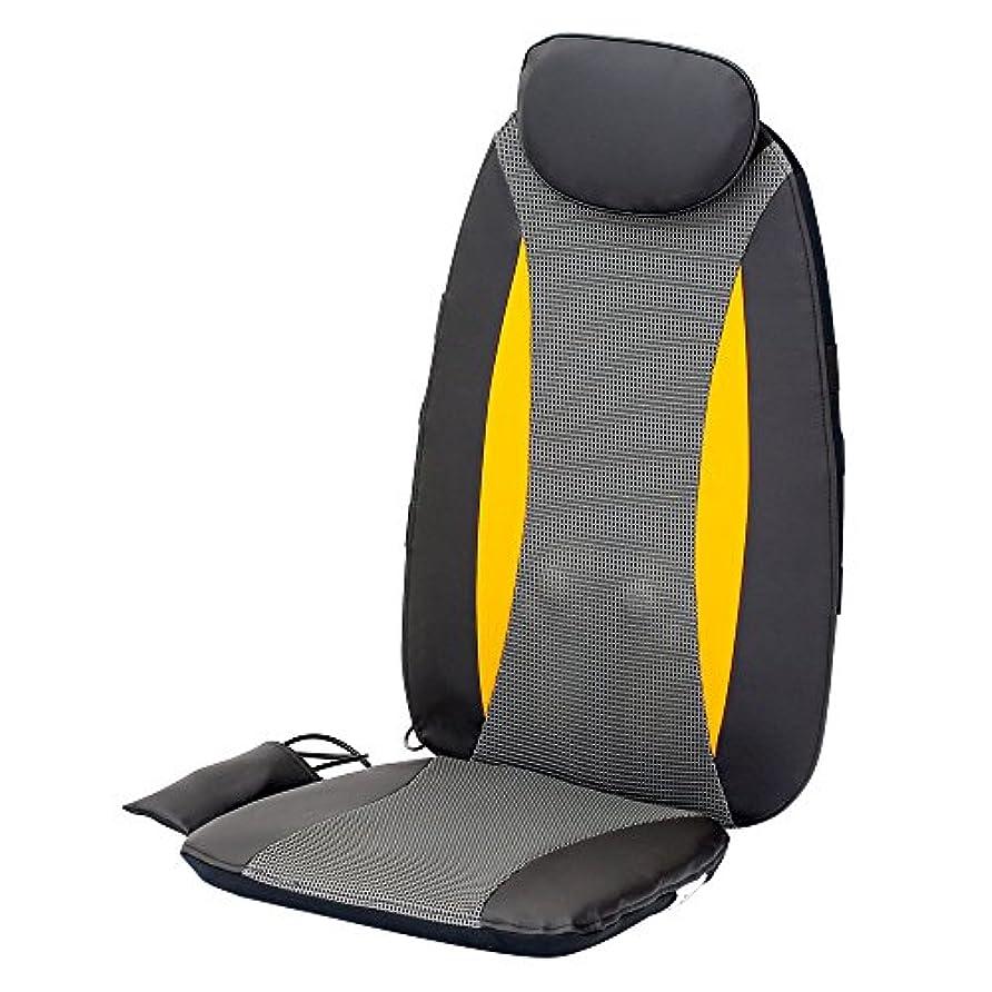 暫定提供するイーウェルクロシオ シートマッサージャー セララ 肩こり 首 肩 腰 背中用 [医療機器認可取得 マッサージャー 首マッサージャー マッサージ機 スリム 黒] 058368