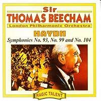 Haydn;Symphonies 93,99,104