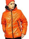 (エイト) 8(eight)12color 中綿 ダウンジャケット ナイロン ブルゾン アウター 防寒 アウトドア オレンジ L