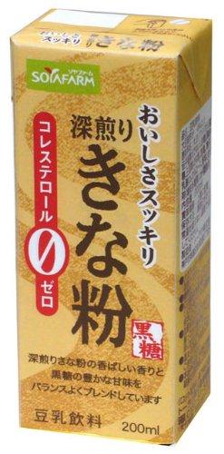 トーラク おいしさスッキリきな粉豆乳飲料200ml×24本