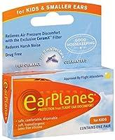海外直送品Earplanes Earplanes Childrens Ear Plugs Disposable, 1 each (Pack of 4)