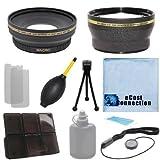 Proシリーズ72mm 0.43X広角レンズ+ 2.0X望遠レンズとデラックスレンズアクセサリーキットfor Nikon af-s DX Nikkor 18–200mm f /..