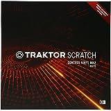 Native Instruments DJアクセサリー TRAKTOR Scratch Control Vinyl MK2 White