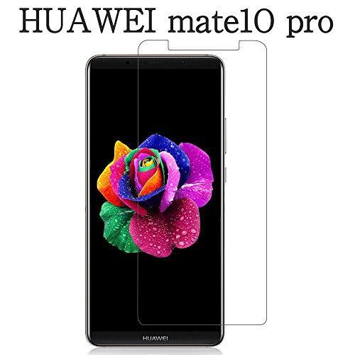 HUAWEI Mate 10 Pro ガラスフィルム,Ziptrue HUAWEI Mate 10 Pro フィルム 旭硝子採用2.5D 高透過率 硬度9H 自動吸着 気泡レス