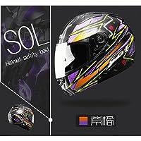 AJK SOL-SM-2システムヘルメットおしゃれかっこいいヘルメットバイク用ヘルメット大人気SOL-SM2フルフェイス通気性抜群 MLXLXXL最新モデル XL|750|