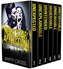 Rock Star Affliction: The Complete Series: (#1-6) by [Cross, Amity]