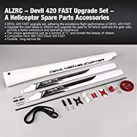 Swiftgood ALZRC - Devil 420 FASTアップグレードセット - A Devil 380 FAST Helicopter軽量スペアパーツアクセサリーコンポーネント