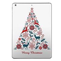 第2世代 第3世代 第4世代 iPad 共通 スキンシール apple アップル アイパッド A1395 A1396 A1397 A1416 A1430 A1403 A1458 A1459 A1460 タブレット tablet シール ステッカー ケース 保護シール 背面 人気 単品 おしゃれ クリスマス ツリー 英語 010018