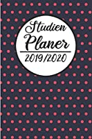 Studien Planer 2019 / 2020: Semesterplaner 2019 2020 | Studienplaner A5, Semesterkalender, Timer, Uni Planer