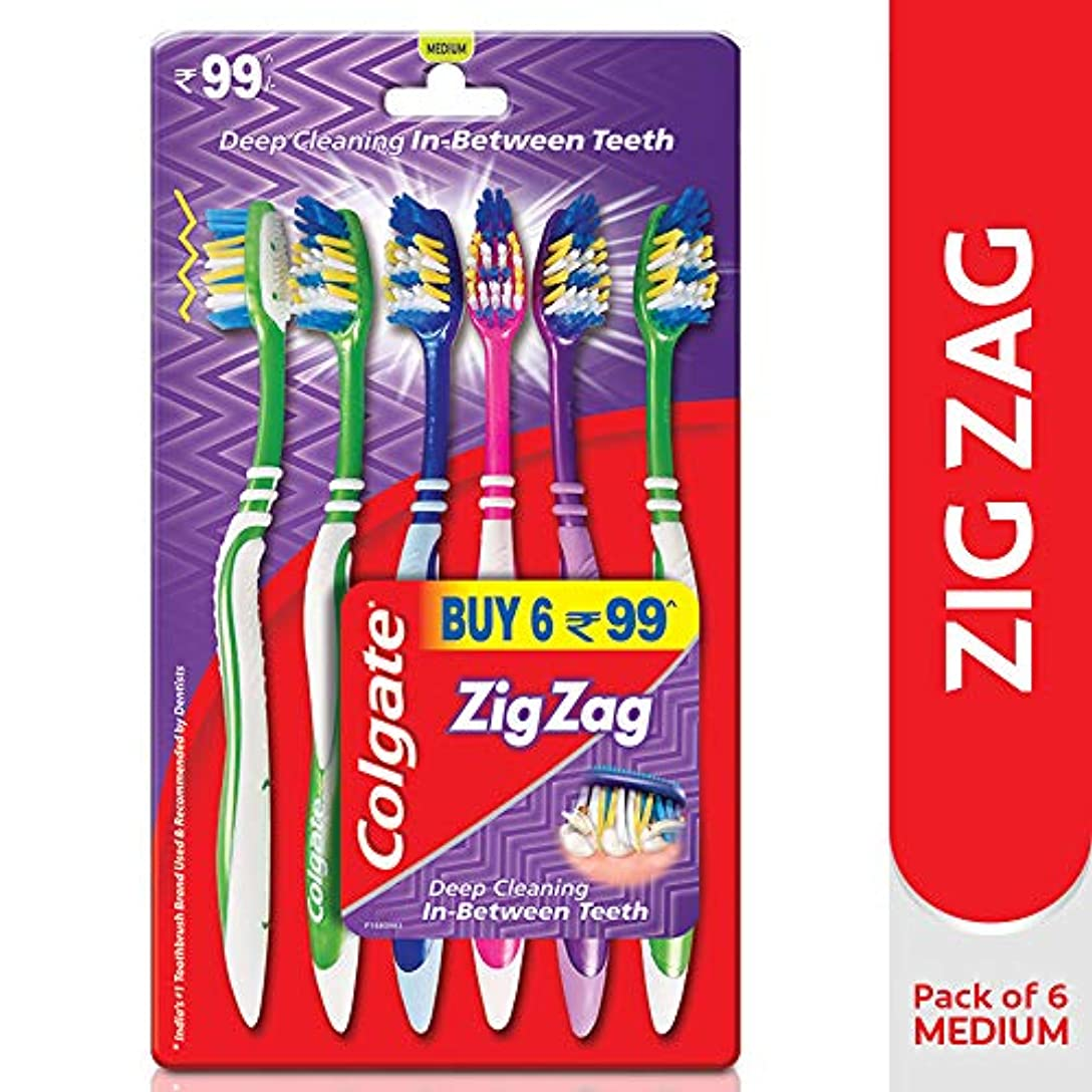 作物獣頼るColgate Zig Zag Toothbrush