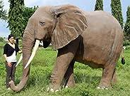 アニマルビッグフィギュアシリーズ【巨大・アフリカ象】(等身大フィギュア・ゾウ)