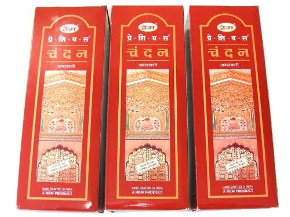 HEM(ヘム) スティックお香/六角香/ヘキサパック(18箱)3ケースセット (チャンダン)