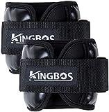 KINGBOS アンクルウェイト リストウェイト 筋トレ ?0.5kg / 1kg / 1.5kg / 2kg / 3kg 2個セット パワーアンクル リストバンド
