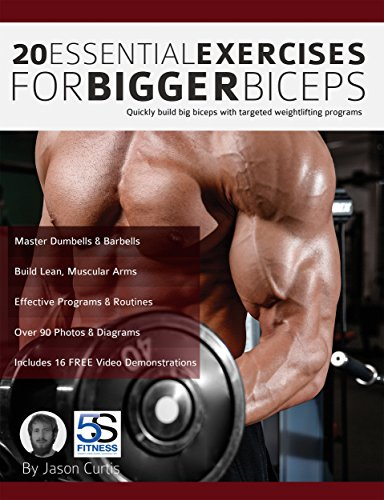 amazon co jp 20 essential exercises for bigger biceps quickly