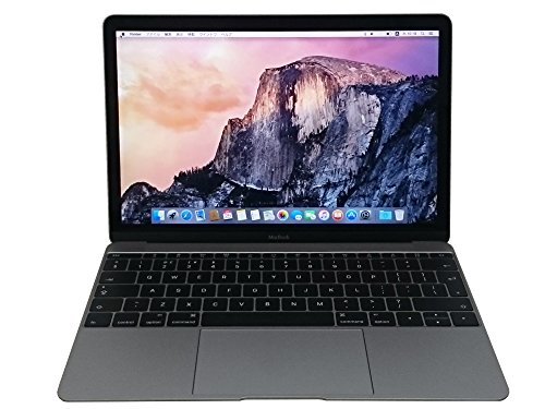 APPLE MacBook (1.3GHzデュアルコア Intel CoreMプロセッサ/12型/8GB/512GB/USB-C/スペースグレイ) UK配列キーボード MJY42J/A(BTO)