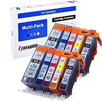 ink4work 10パックpgi-225、cli-226互換インクカートリッジPixma ip4820/ ip4920/ ix6520/ mg5120/ mg5220/ mg5320/ mx712/ mx882/ mx892