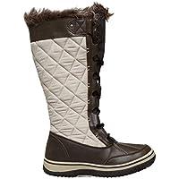 Alpine Women's Brundall Snow Boot, Brown, AU6