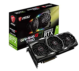 MSI GeForce RTX 2080 GAMING X TRIO グラフィックスボード VD6723