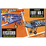 Fairey Flycatcher Hawker Fury 2pk