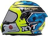 KYT(ケーワイティー) バイクヘルメット KR-1 アレックス・エスパルガロ・レプリカ・ブルー S(55-56cm) YJKR0001S