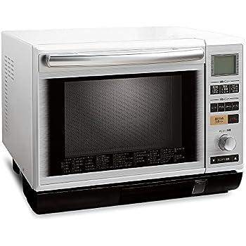 アイリスオーヤマ 過熱水蒸気 スチームオーブンレンジ 24L ホワイト MS-2402