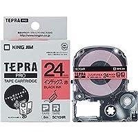 ==まとめ== キングジム・テプラ・PROテープカートリッジ・インデックスラベル・24mm・赤/黒文字・SCY24R・1個-×5セット-