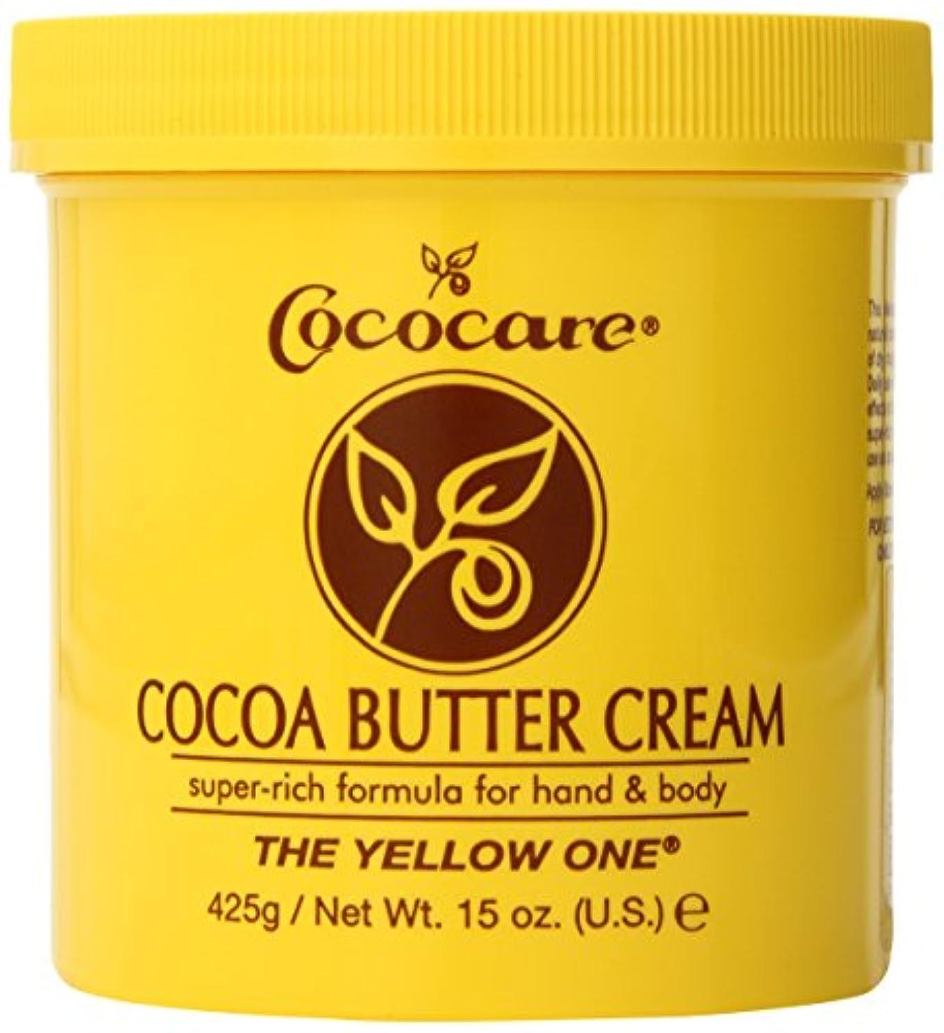 計画体操選手方法論Cococare, The Yellow One, Cocoa Butter Cream, 15 oz (425 g)