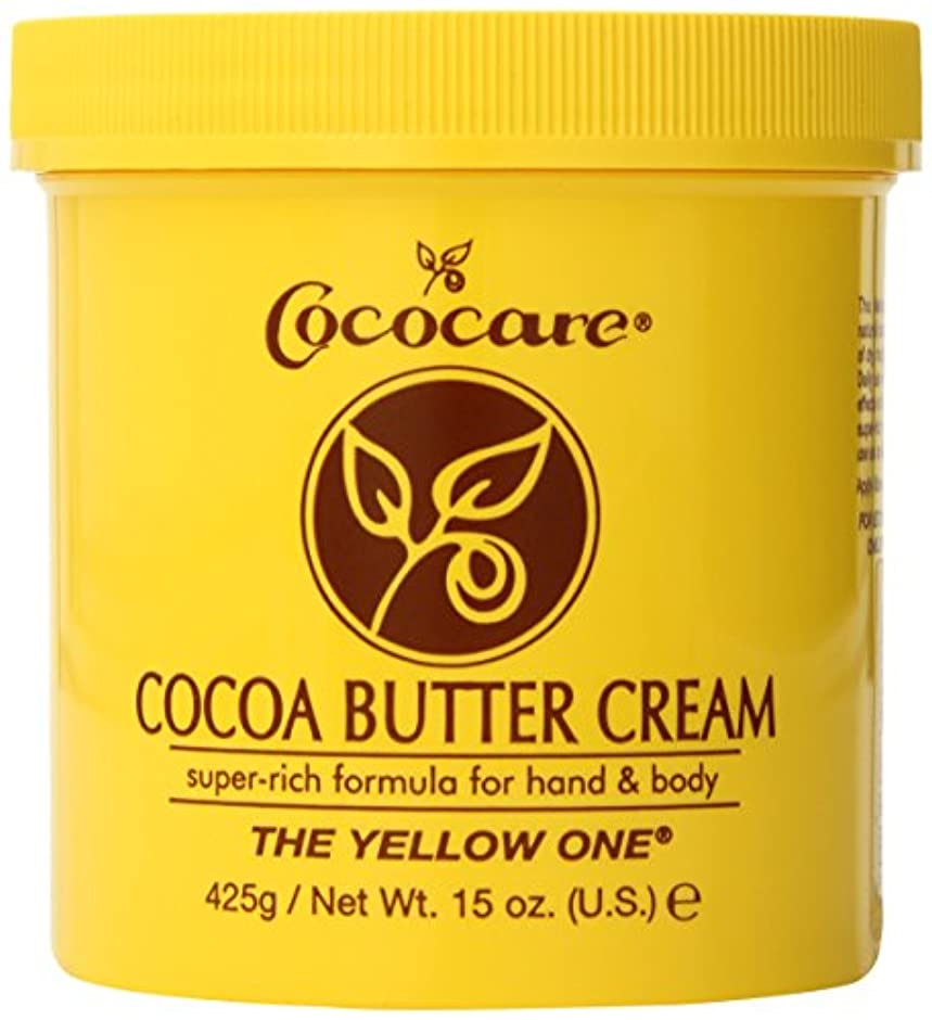 ライド病気代表団Cococare, The Yellow One, Cocoa Butter Cream, 15 oz (425 g)