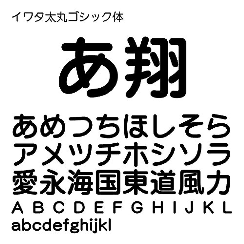 立ち寄るタイル狭いイワタ太丸ゴシック体Std OpenType Font for Windows [ダウンロード]