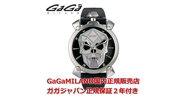 df90808268 Amazon   GAGA MILANO [ガガ ミラノ] 腕時計 MANUALE 48MM BIONIC SKULL 限定モデル 5060.01S  メンズ [正規品]   メンズ腕時計   腕時計 通販