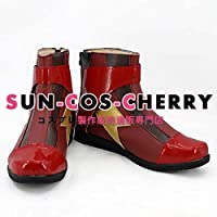 【サイズ選択可】コスプレ靴 ブーツ K-2277 THE FLASH/フラッシュ バリー・アレン Barry Allen フラッシュ Flash 男性28CM