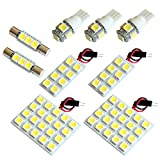 【断トツ231発!!】 V36 スカイラインセダン LED ルームランプ 9点セット [H18.11~H26.4] ニッサン 基板タイプ 圧倒的な発光数 3chip SMD LED 仕様 室内灯 カー用品 HJO