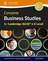Complete Business Studies for Cambridge Igcserg and O Level + Cd-rom