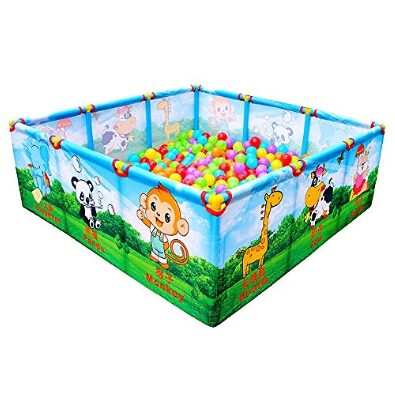 ベビーサークル, 屋内/屋外、安全の??ためのポータブル漫画の赤ちゃんのプレイペン幼児、子供の遊びのフェンス - 40センチメートルの高さ