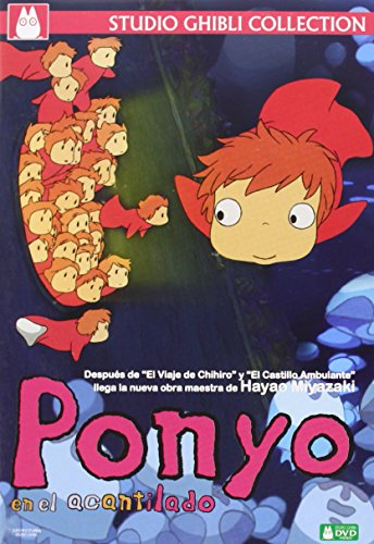 崖の上のポニョ(スペイン語)Ponyo en el acantilado DVD [Import]